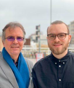 Walter und Oliver Dürr tsc-Netzwerk-Konferenz